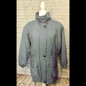 Rare Vintage London Fog Puffer Jacket Womens Small